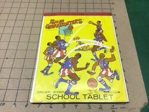 the HARLEM GLOBETROTTERS - school tablet