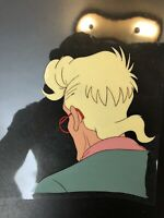 Rare The Real Ghostbusters Animation Production Hand Painted EGON SPENGLER Cel
