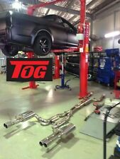 TOG ULTIMATE STAINLESS STEEL VE COMMODORE SS UTE LS2 LS3 CATBACK EXHAUST SYSTEM