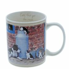 Kitchy and Co A29161 Cats That Got The Cream Collie Mug