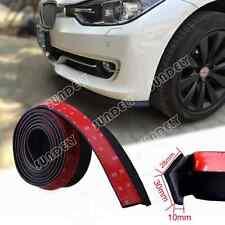 Universal 250CM Car Front Bumper Lip Splitter Spoiler Chin Lip Skirt Protector
