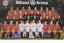ALLIANZ ARENA CARD Mannschaft abgelaufen NUR FÜR SAMMLER