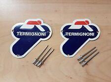 Ducati Corse Termignoni Silencer Metal Badges, Emblems, 899, 1199 Panigale