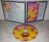 CD IL MEGLIO DI SANREMO VOL.2 - MORANDI - RUGGERI - TOZZI - MANGO - OXA