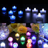 Battery Operated LED Tea Lights Submersible Waterproof Wedding Party Decor 10pcs