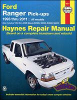 RANGER FORD SHOP MANUAL SERVICE REPAIR HAYNES MAZDA PICKUP BOOK CHILTON WORKSHOP