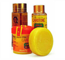 Caroton Light And Natural Trio Black Spot Corrector Lotion Serum Cream Soap