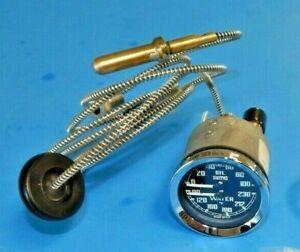 New Smiths Dual Water Oil Gauge MGA MGB Bugeye MG Midget BHA4737