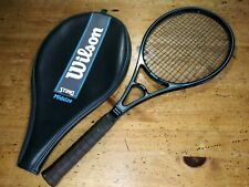 """Vintage Wilson Sting Midsize Graphite Tennis Racquet Racket with Cover 4 5/8"""""""
