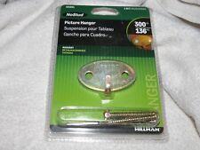 Hillman Masonry Picture Hanger 300 lb. w/ Drill Bit and Mount Screws #121051