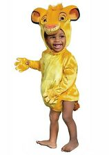New Disney Baby SIMBA LION KING Halloween Costume Toddler Size 12-18 Months