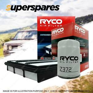Ryco Oil Air Filter for Mitsubishi Pajero NM NP NS NT NW NX 4cyl 3.2L 4M41T