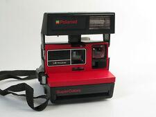 Polaroid 600er inmediatamente imagen cámara tipo: supercolors LM rojo-usado