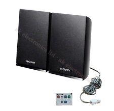 SONY DVD Blu-Ray 3D Home Cinema Surround Black Speakers 320W 3 Ohms+Plugs