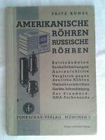 Amerikanische Röhren - Russische Röhren, Funkschau-Verlag 1942