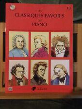 Les Classiques Favoris Du Piano Recueil Partition Volume 1B Editions Lemoine
