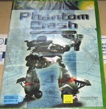 """JEU XBOX """"Phantom crash"""" (Robots de combats géants) NEUF SOUS BLISTER"""