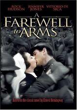 Farewell to Arms - Rock Hudson, Jennifer Jones, Vittorio de Sica NTSC DVD