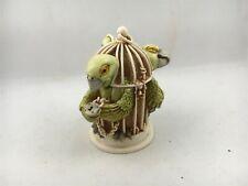 Harmony Kingdom Great Escape 1999 England Figurine Trinket Parrot Treasure Jests