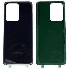 For Samsung Galaxy S20 Ultra / S20 Plus Back Glass Cover Replacement Door Black