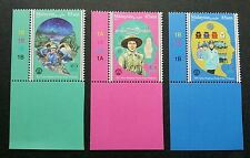 Malaysia 100 Years Girl Guides Association 2016 Scout Uniform (stamp plate MNH