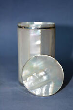 Beautiful Mother of Pearl & Silver Box