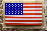 Large SOLAS Reflective US Flag Full Color US Navy Army Green Beret SEAL USCG PJ