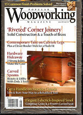 Popular Woodworking Magazine June 2014+Joinery Basics-Cabriole Legs-Carved Seat