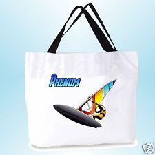 grand cabas sac shopping sac de plage  fond large personnalisé  prénom réf 05