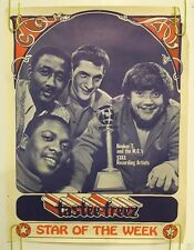 Booker T & the M.G.'s Tastee Freez Poster Vintage Original Pin-up 1960s Music