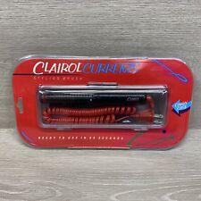 """Clairol Currents Hot Curling Brush Iron 3/4"""" Barrel Dual Volts Model SQ-2"""
