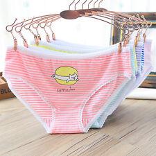 5 stk Damen Hot Pants Gestreift Panty Panties Hotpants Unterwäsche Unterhose Neu