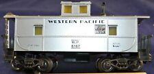 K-Line Erie Western Pacific W.P. 6167 Silver Caboose, - S Gauge, 22.5mm