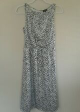 The Limited Size XS Black and White Lined Dress New With Tags Orig;$99.95