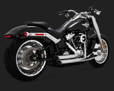 2018 Harley FXBR Softail Breakout: Vance and Hines Chrome Short Shots : 17235