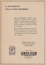 Z5235 Linoleum - Il pavimento della casa moderna - Pubblicità d'epoca - 1927 ad