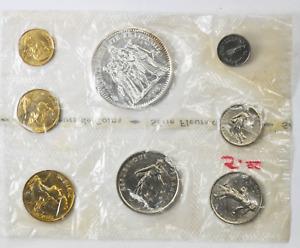 1970 France Monnaie De Paris Specimen Set 8 Coin Uncirculated