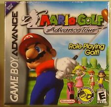 Mario Golf Advance Tour new sealed GBA