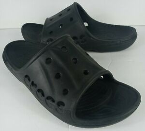 Crocs BAYA SLIDE Black Men Size 13