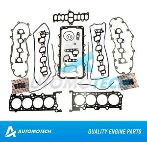 Full Gasket Set Fits Ford Mustang Mercury Lincoln 4.6L