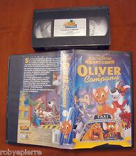 VHS Videocassetta I classici Walt Disney Oliver & company VS 4684 marzo 1977