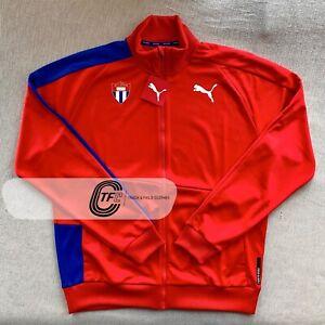 RARE! PUMA 2021 CUBA OLYMPIC Team Pro Elite Track & Field Red Jacket Tokyo 2020
