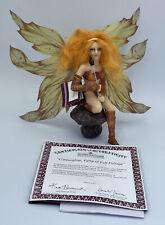 Ashton Drake Fairies Of The Enchanted Forest Copperglow Fairy of Fall Foliage