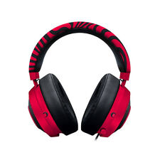 Razer Pewdiepie Kraken Pro V2 Analog Gaming Headset Neon Red Oval PS