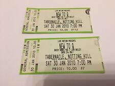 DAISY DARES YOU  -  LONDON  TABERNACLE  -  2010   CONCERT TICKETS - USED