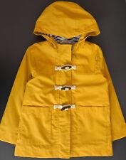 NEXT Jacke 104 110 116 Fischer gelb neu w Parka Mantel Regen wasserfest gummiert