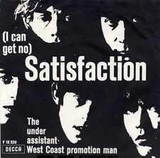 """ROLLING STONES """"(I CAN'T GET NO) SATISFACTION"""" ORIG DENMARK/UK 1965"""