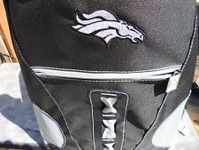 2017 LARGE Denver Broncos Backpack School book Bag laptop tablet 18H x 5D x 12W