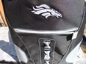 NFL 2019 LARGE Denver Broncos Backpack School book Bag laptop tablet 18Hx5Dx12W