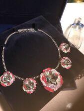 Authentic Swarovski Flower Necklace. Swarovski Necklace . Swarovski Necklace.
